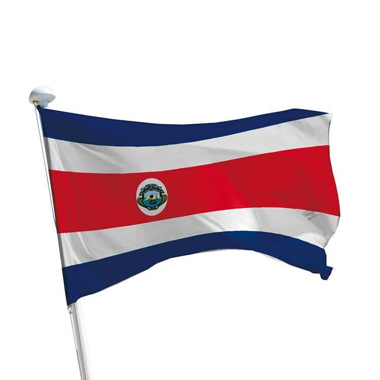 Drapeau Costa Rica / costaricien pour mât