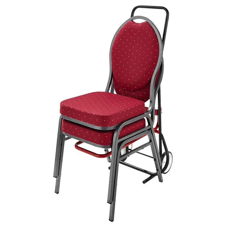 Doublet diable transporteurs de chaises empilables pour for Adaptateur chaise pour bb