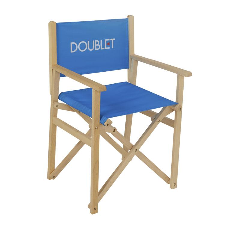Chaise de réalisateur pliante bois Cannes