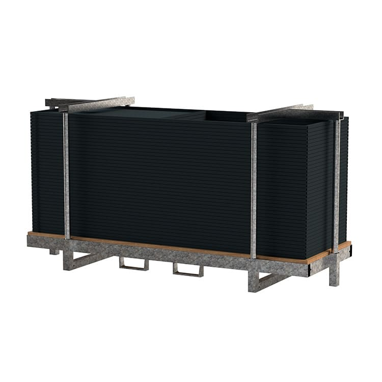 Rack de stockage pour isoloirs Diderot