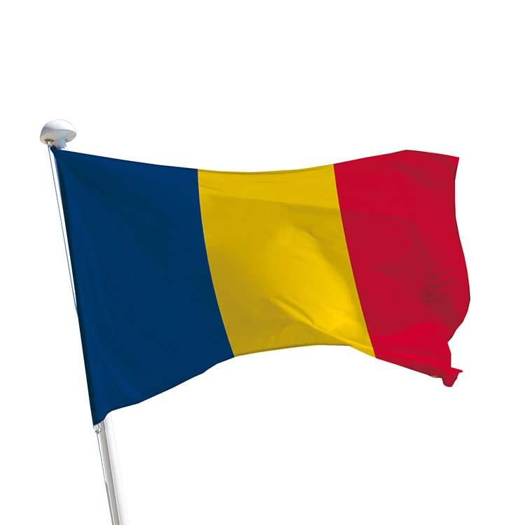 Drapeau Tchad pour mât