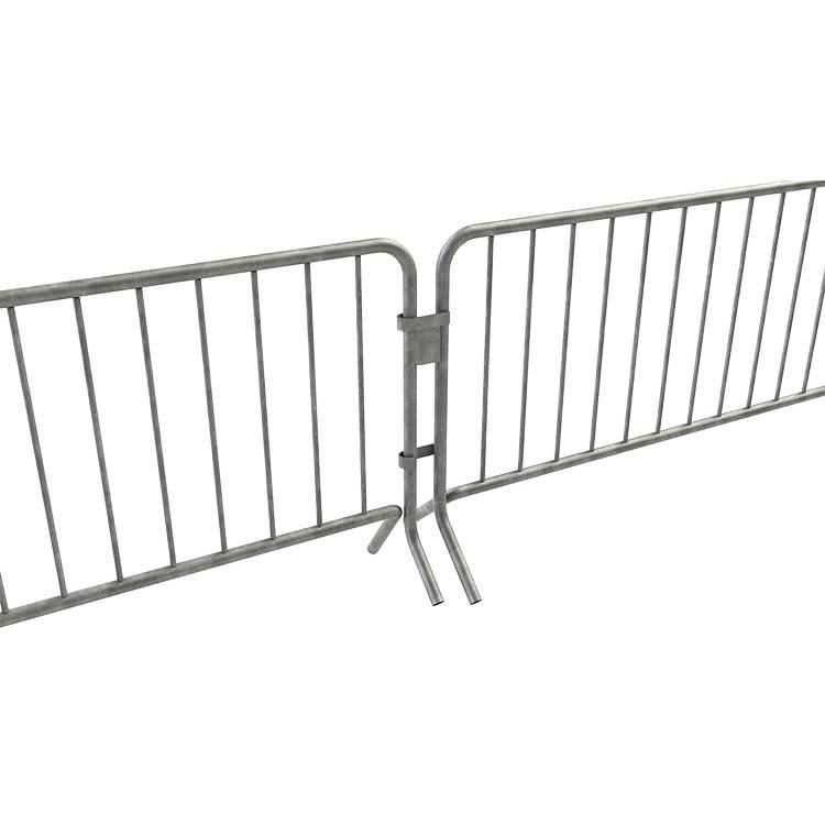 Barrière de sécurité sécuristar crochetées entre-elles