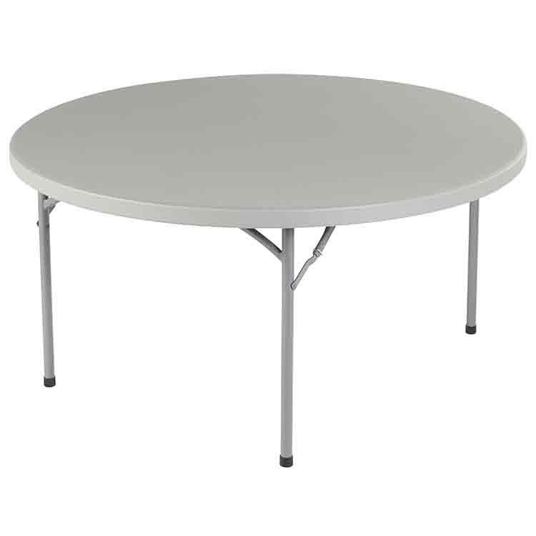 Table ronde pliante Duralight 152 cm