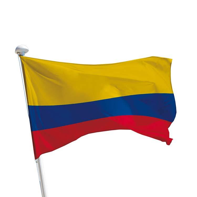 Drapeau Colombie pour mât