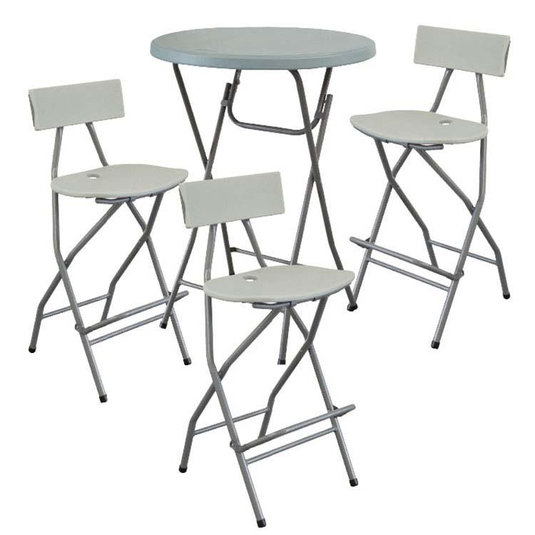 Tabourets et chaise haute de récéption