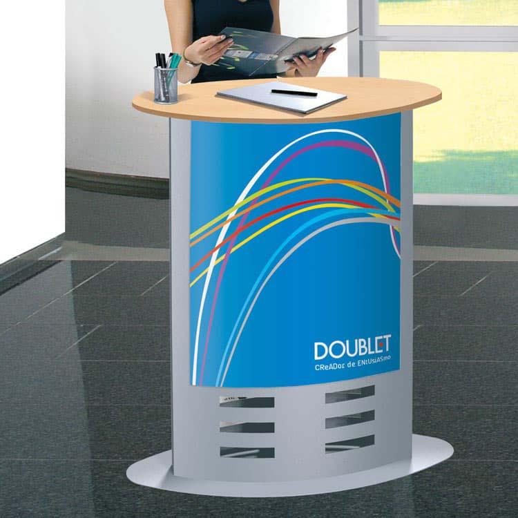 Comptoir d'accueil Doublet