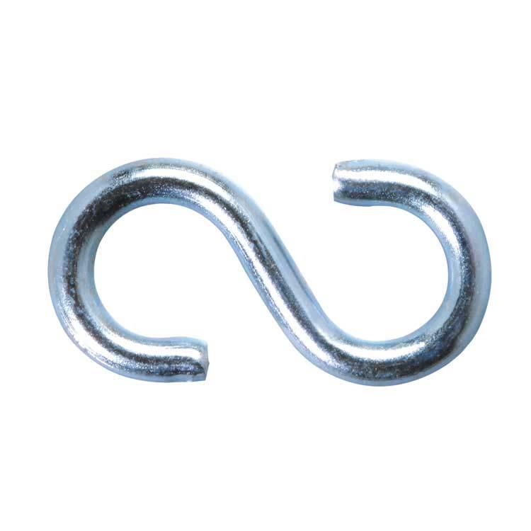 Crochet S en métal