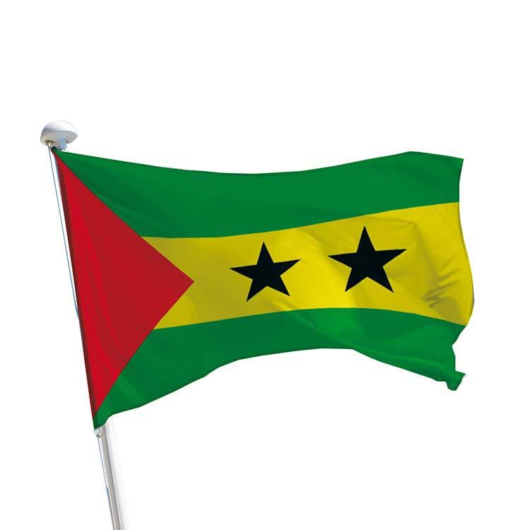 Drapeau Sao Tomé-et-Principe pour mât