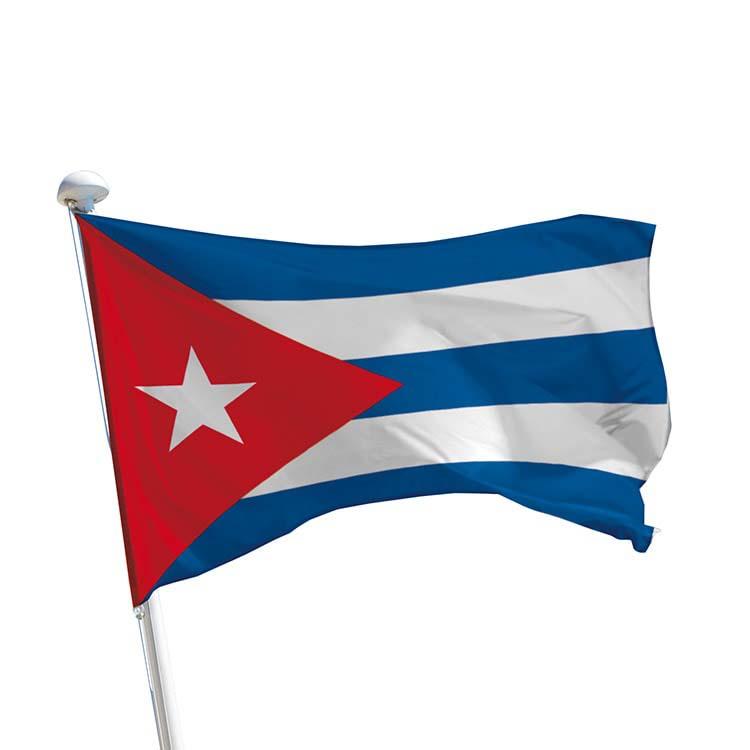 Drapeau Cuba / cubain pour mât