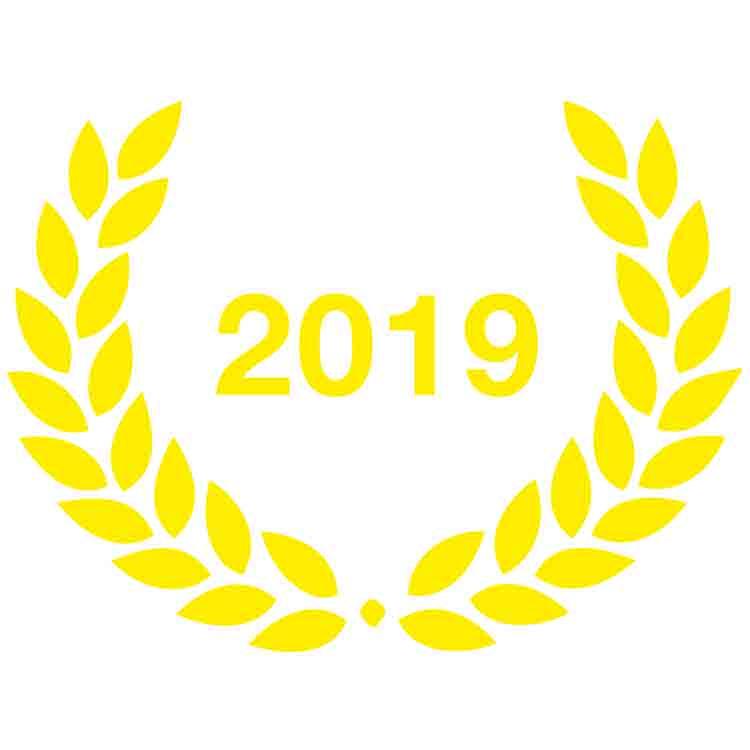 2019 - Laurier adhésif Ville Active et Sportive