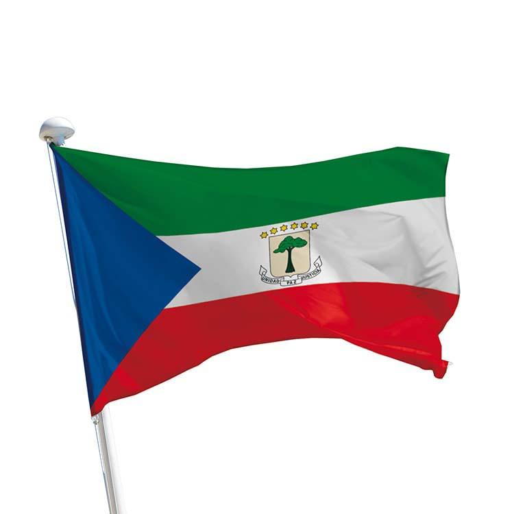 Drapeau Guinée Equatoriale pour mât
