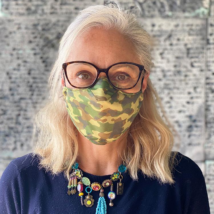 Masque tissu ColleKtor camouflage
