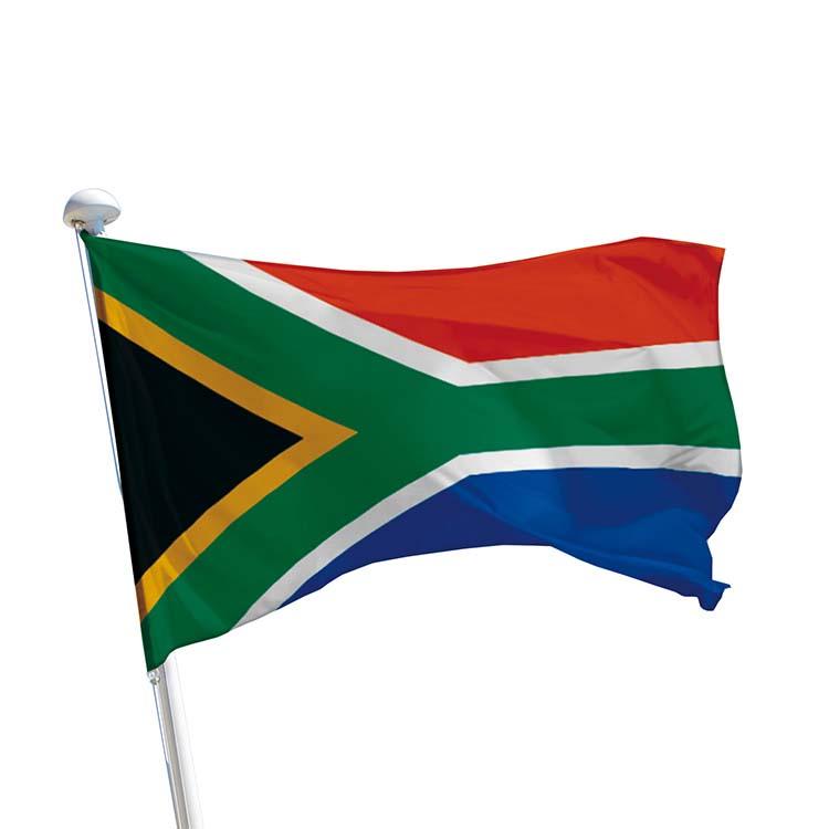 Drapeau Afrique du Sud pour mât