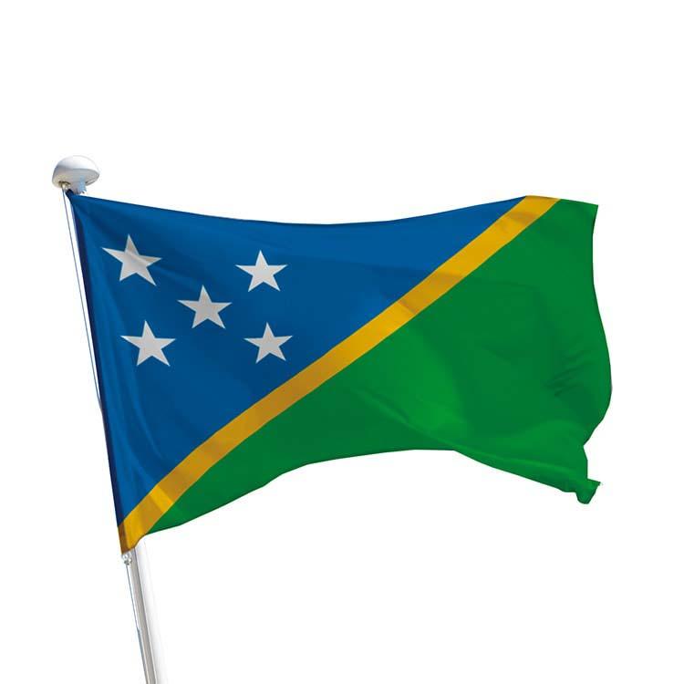 Drapeau des Iles Salomon pour mât