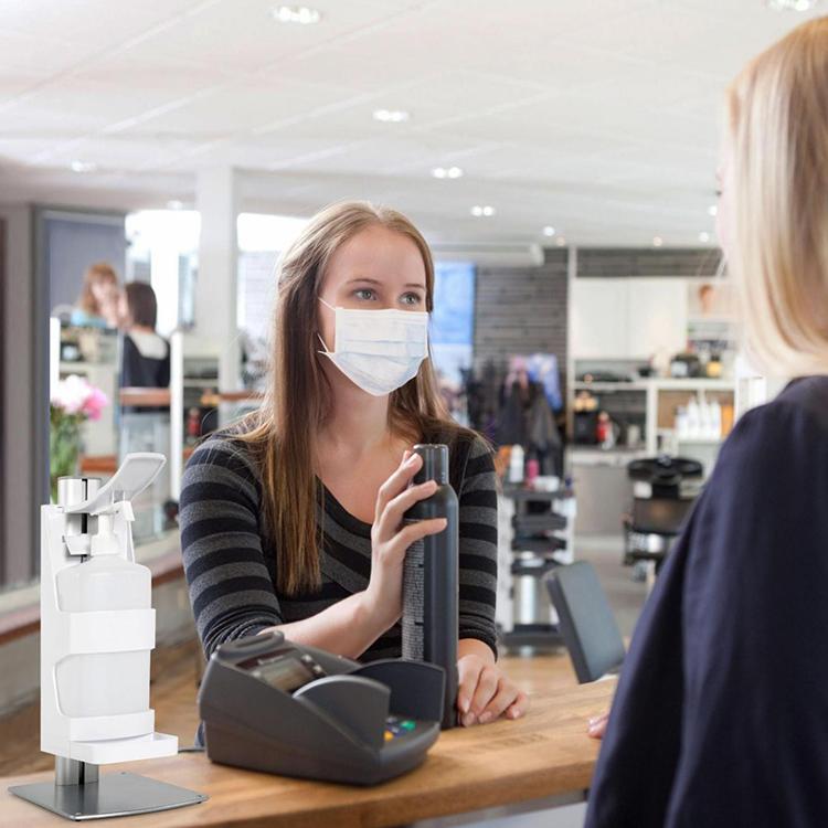 Distributeur de gel à poser rechargeable salon de coiffure