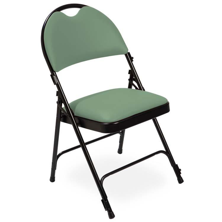 Chaise série 2600 vinyle vert clair M2