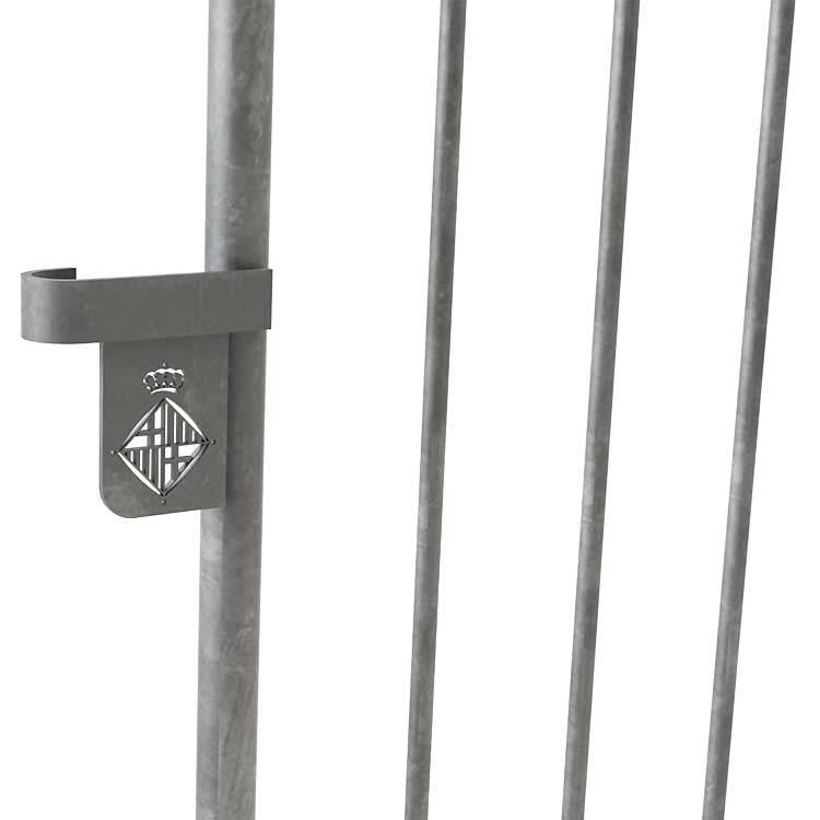 Barrières sécuristar en acier