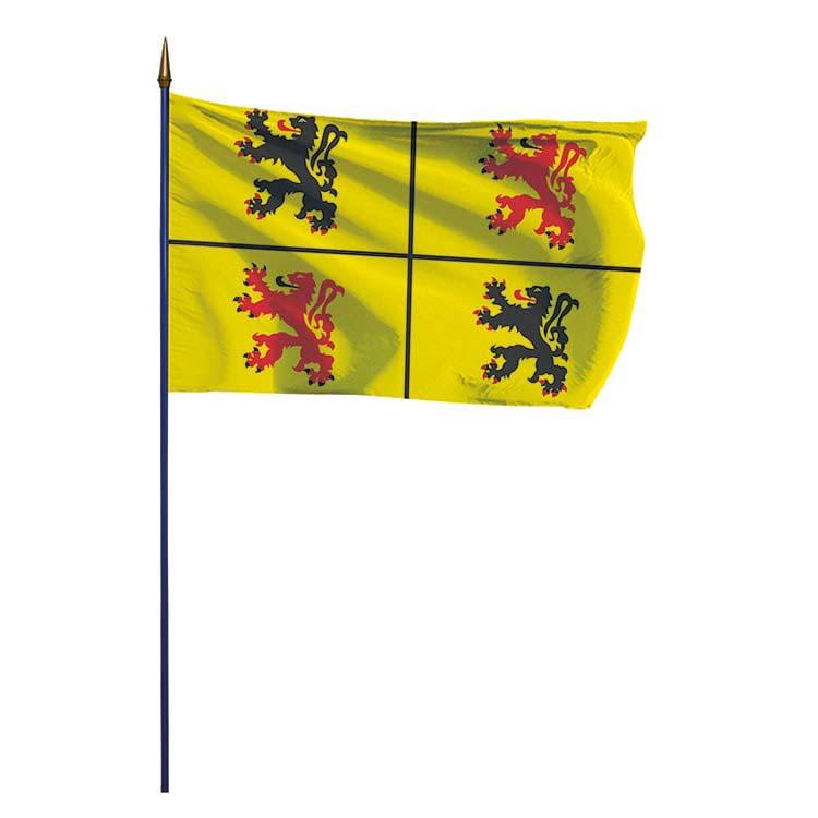 Hainaut drapeau province belge