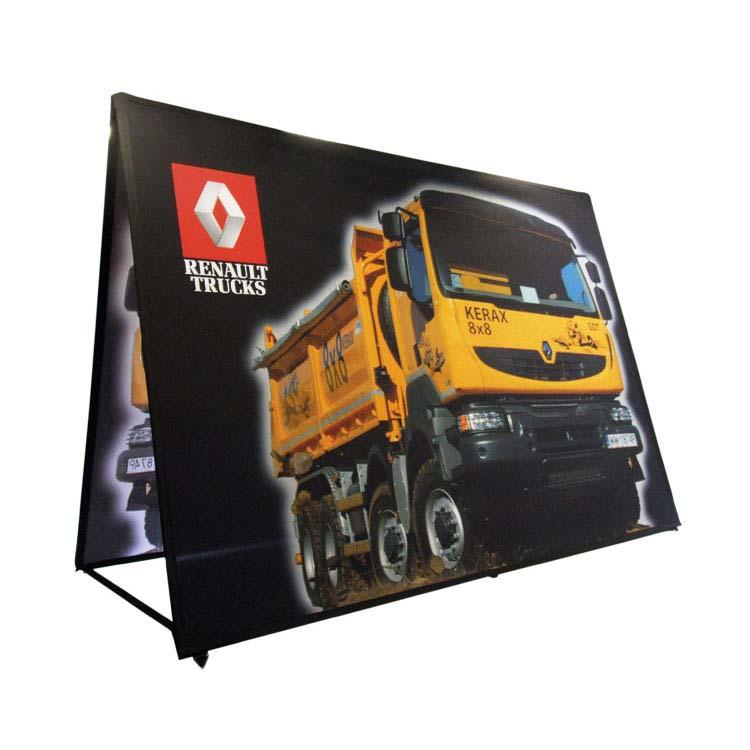 Barrière Plipop rectangulaire Renault Trucks