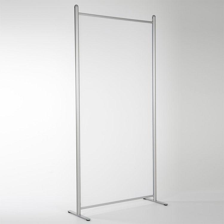 Paroi de séparation vitrée simple