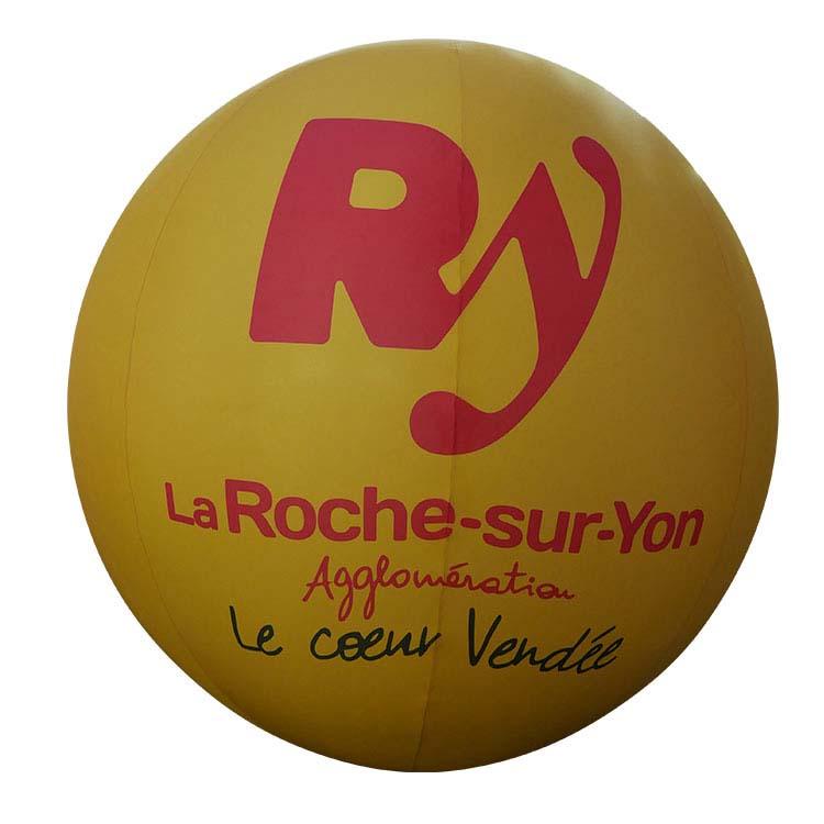 Ballon géant publicitaire gonflable à l'hélium