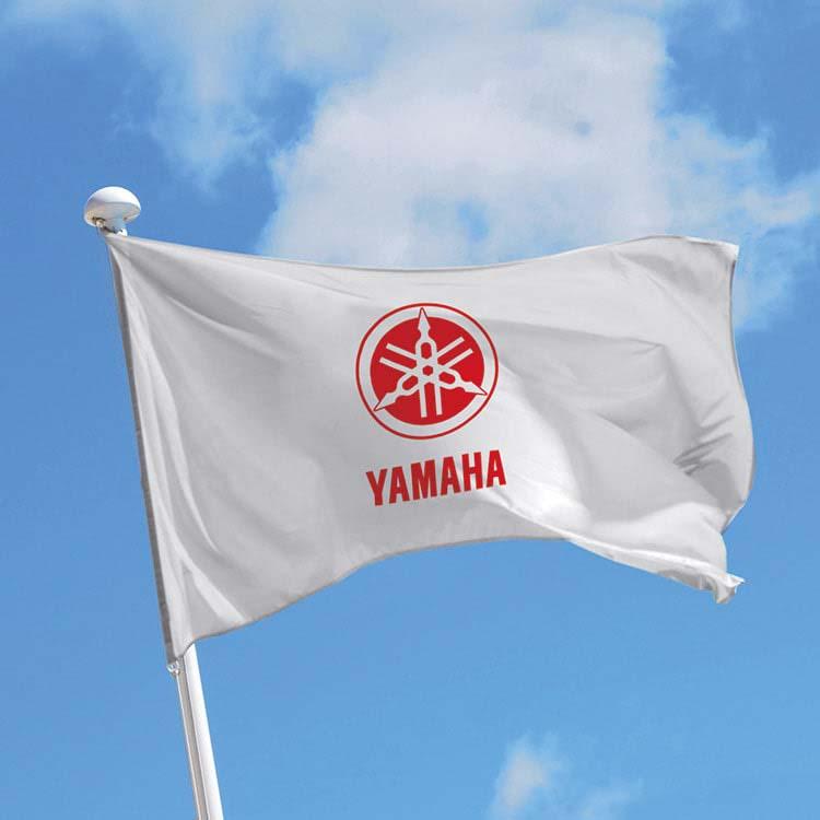 Imprimer un logo sur un drapeau pour mât