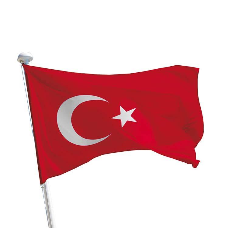 Drapeau Turquie pour mât