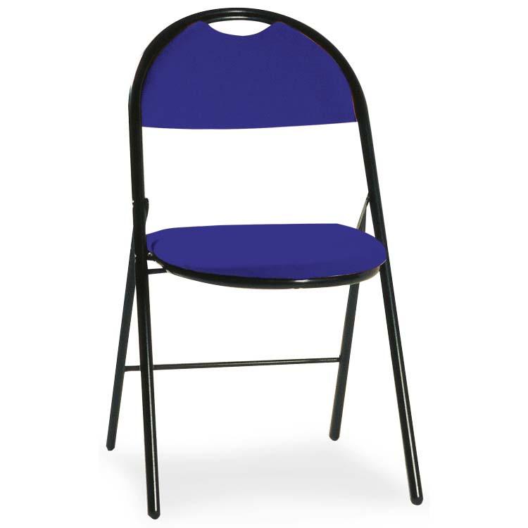 Chaise Roma bleu