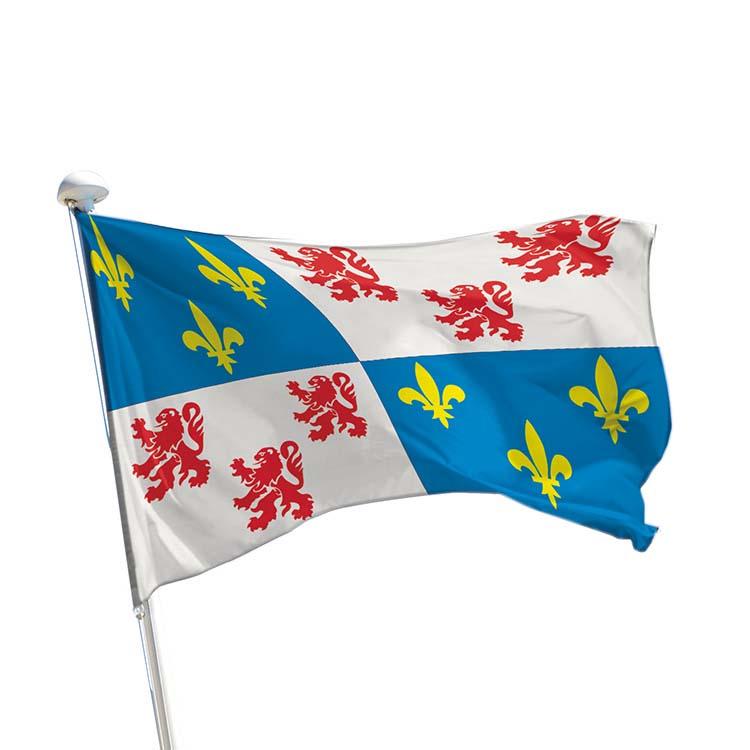Drapeau province Picardie pour mât