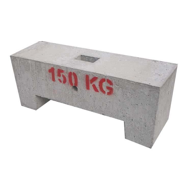 Lest béton 150 kg