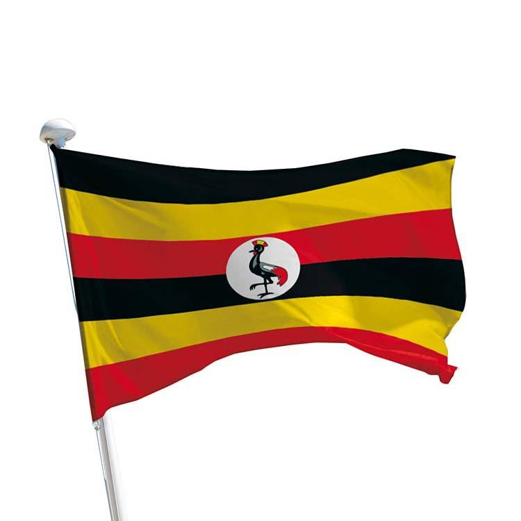 Drapeau Ouganda pour mât