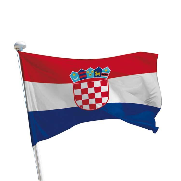 Drapeau Croatie pour mât