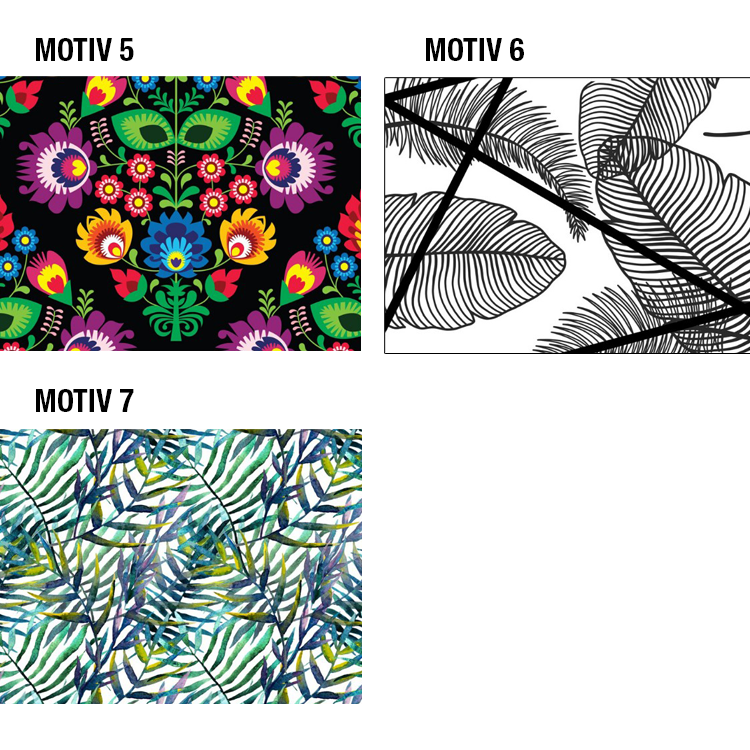 Mund-Nasen-Maske Motiv 5-7
