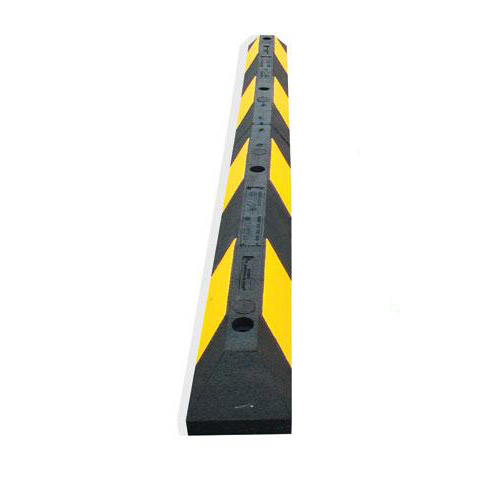 Butée de parking jaune-noir