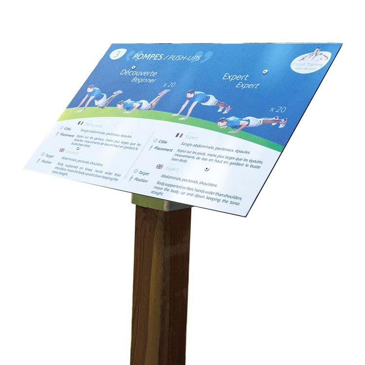 Fabrication de signal tique ext rieure panneautique for Fabricant panneau publicitaire exterieur