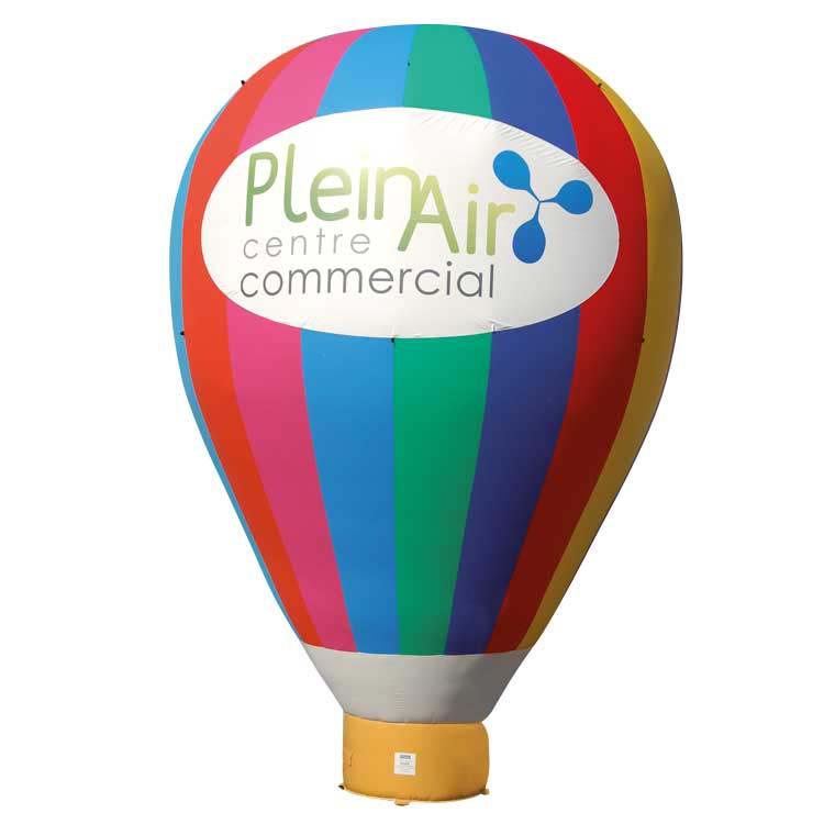 Structure gonflable montgolfière