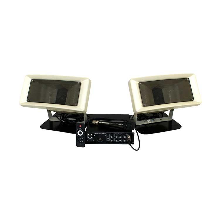 Sonorisation véhicule 2 hauts parleurs 80W HQ