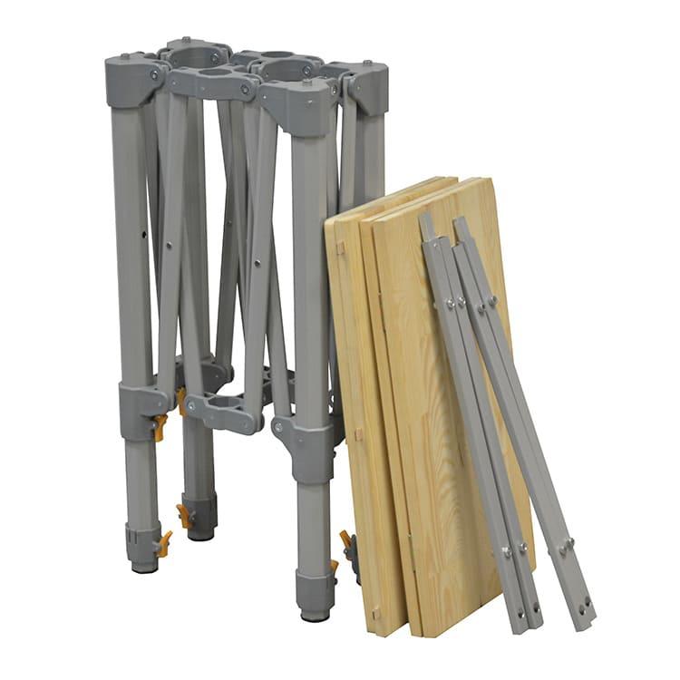 Table comptoir pliante et accessoires
