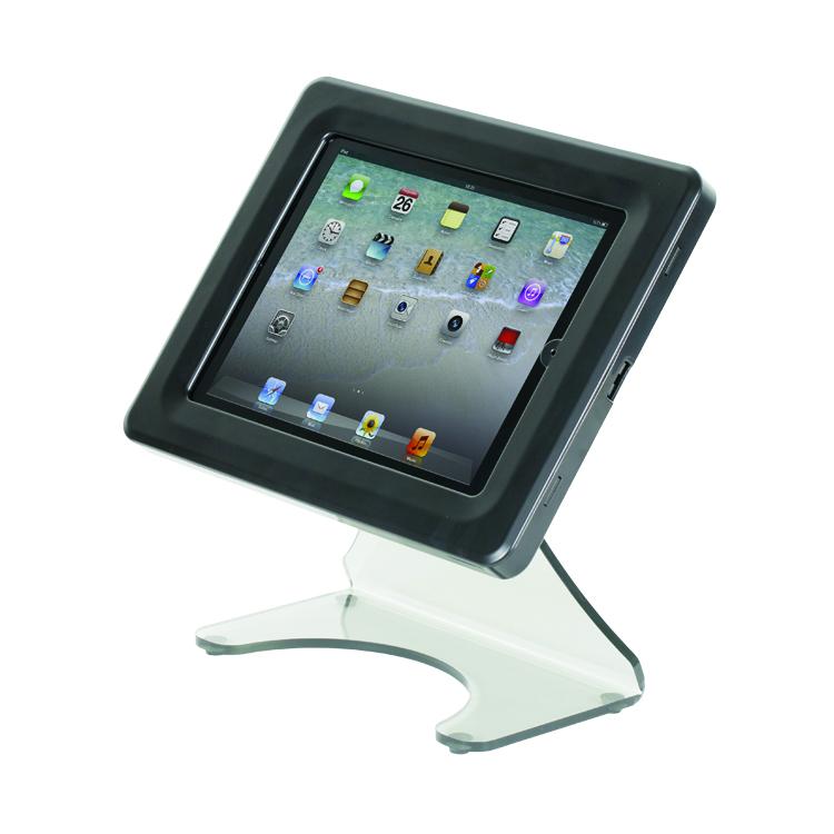 porte tablette de comptoir avec tablette