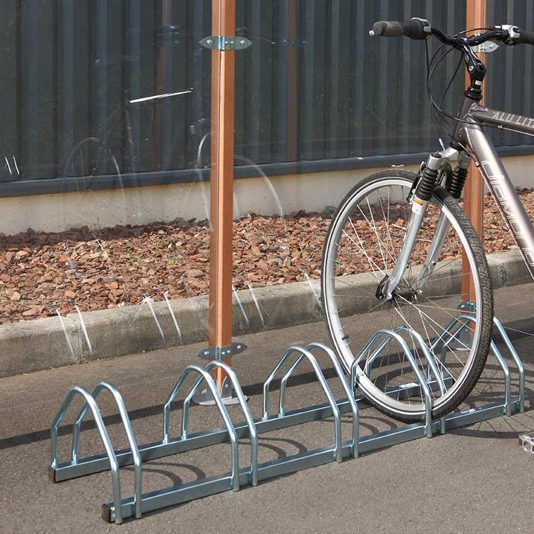Rack à vélos Almere avec vélo