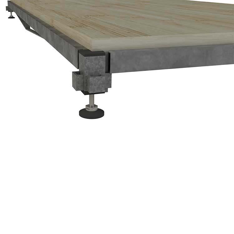 Position haute du plancher