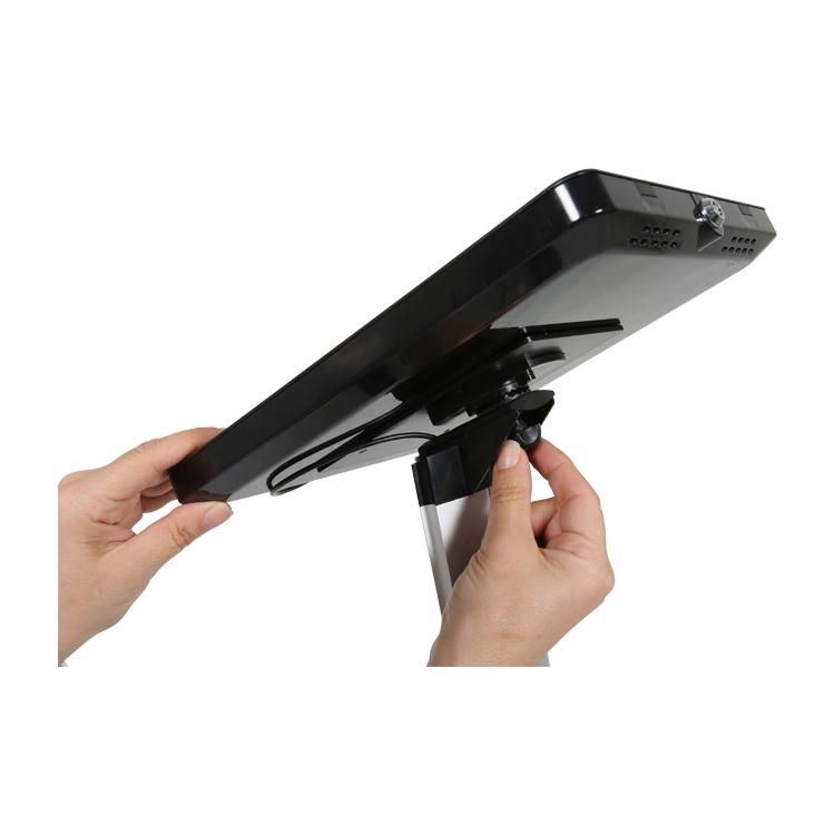 ajustement rotation porte tablette