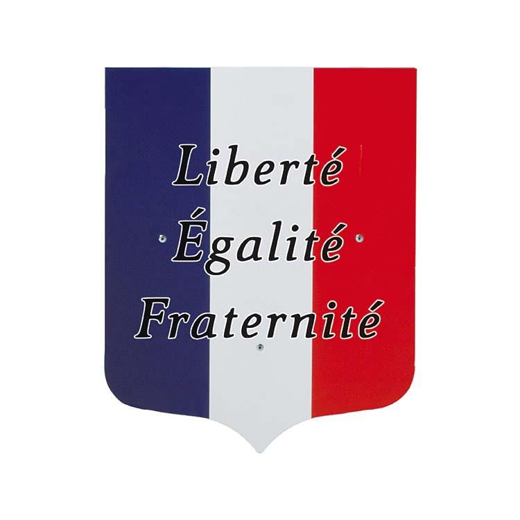 Écusson Liberté Egalité Fraternité