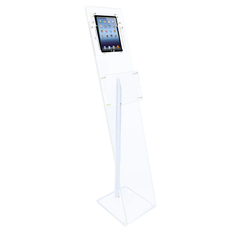 présentoir transparent pour tablette ipad