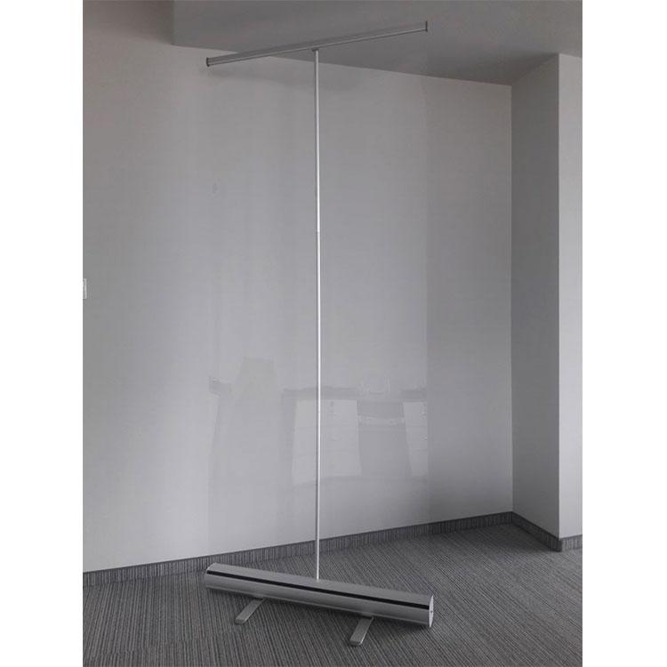 Enrouleur avec PVC transparent pour protection - ambiance