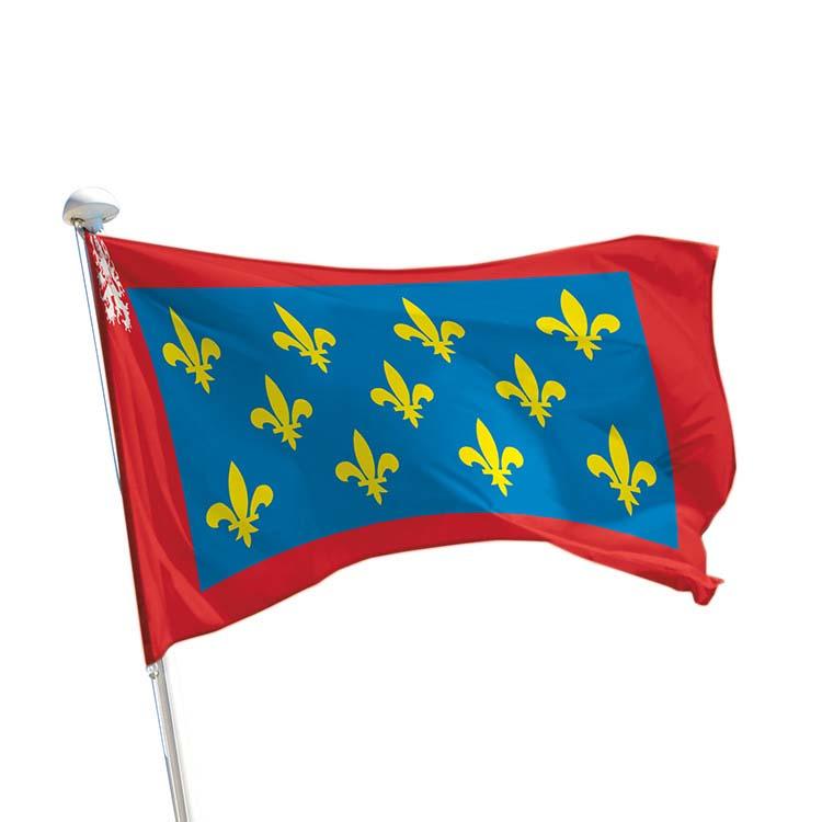 Drapeau province Maine pour mât