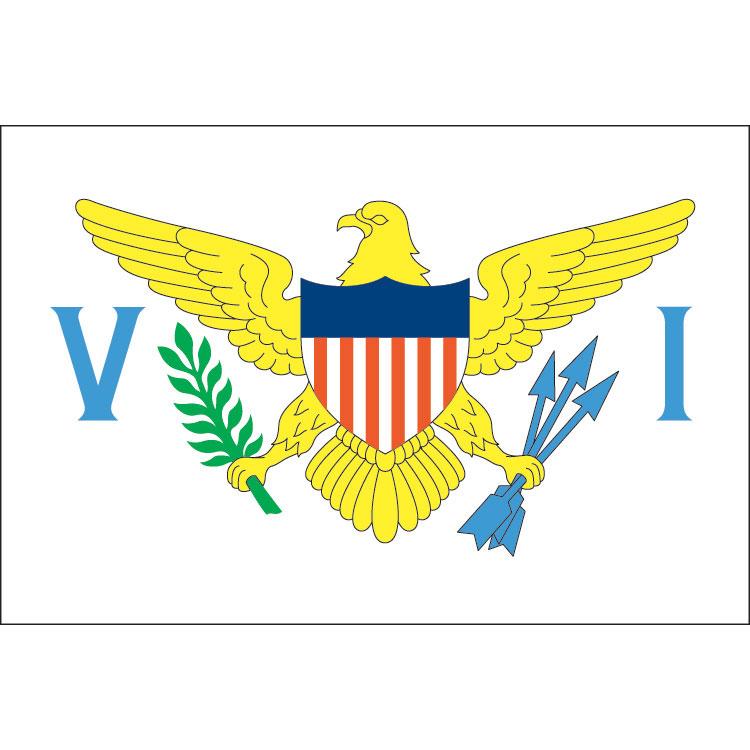 Drapeau Iles Vierges Américaines