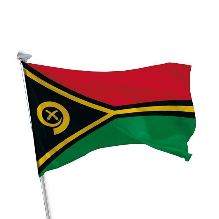 Drapeau Vanuatu pour mât