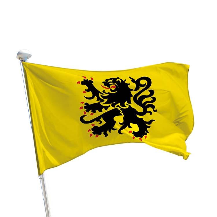 Drapeau province Flandre pour mât