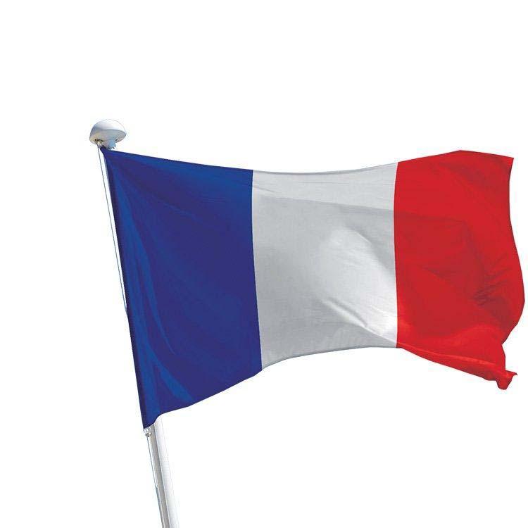 drapeau de la France pour mât